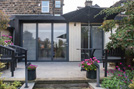 doma architects-harrogate kitchen garden